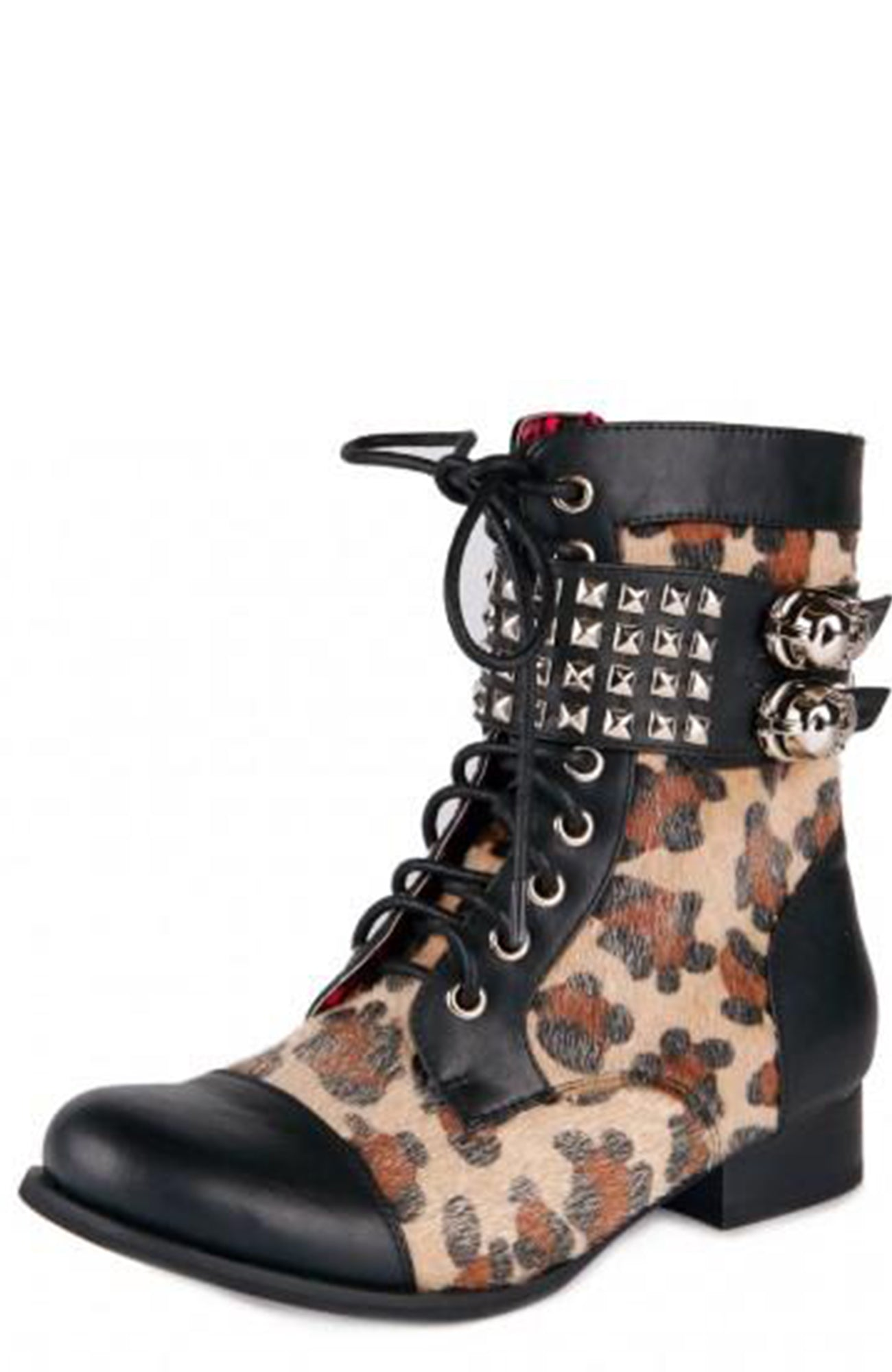 Wild Child Combat Boot ~ Abbey Dawn