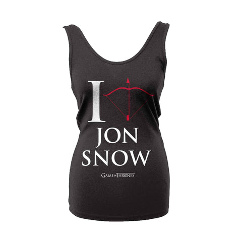 I Love Jon Snow Ladies Tank (Game Of Thrones)