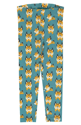 Lively Lynx Leggings ~ Maxomorra