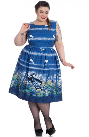 Montana 50s Dress - Hell Bunny *Up To Size 20