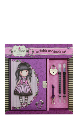 Sugar And Spice Lockable Notebook Set ~ Gorjuss