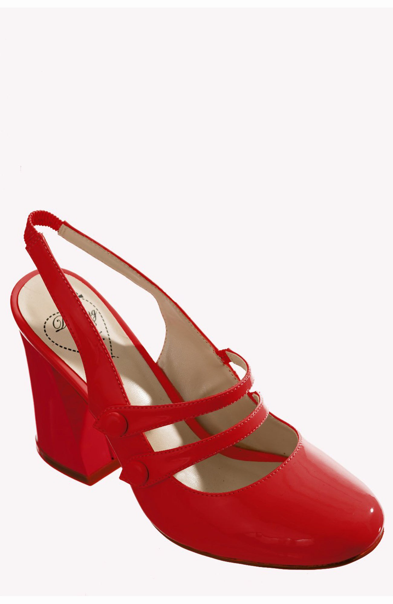 Red Patent Heel ~ Banned