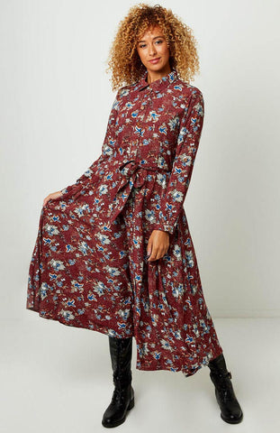 Perfect Printed Shirt Dress ~ Joe Browns