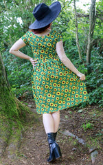 Sunflower Bee Tea Party Dress - Now With Pockets ~ Run & Fly