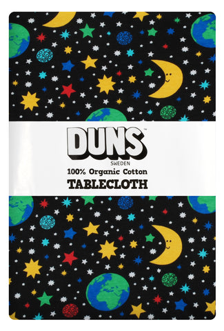 Black Mother Earth Organic Table Cloth ~ Duns Sweden
