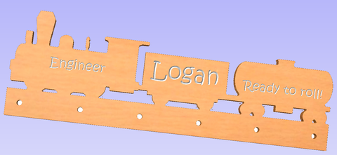 Personalized Kids Coat Rack