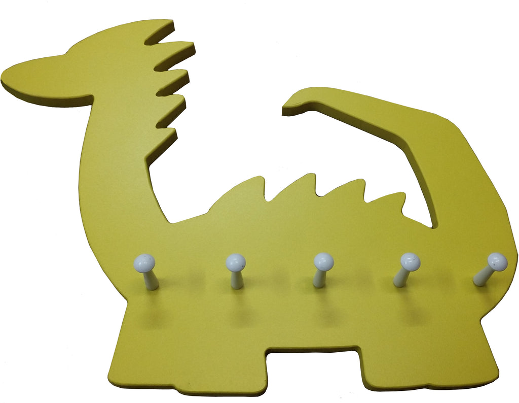 Another dino kids coat rack