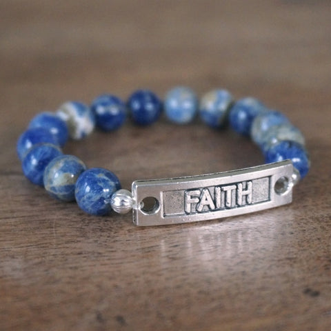 FAITH bracelet: Blue Sodalite