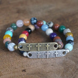 Salvation bracelet: Mixed Gemstone