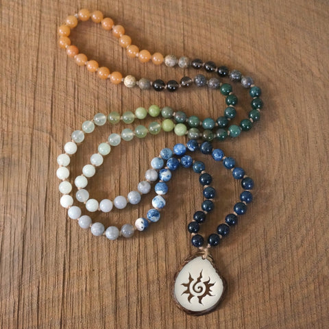 108 Mala Necklace: Inner Strength