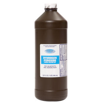 Assured Hydrogen Peroxide, 32 oz.