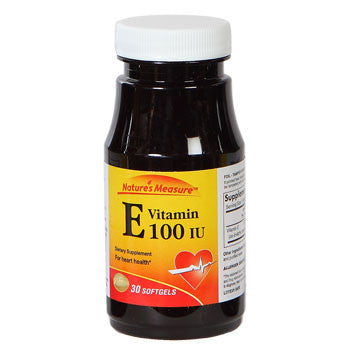 Nature's Measure Vitamin E, 30 ct.