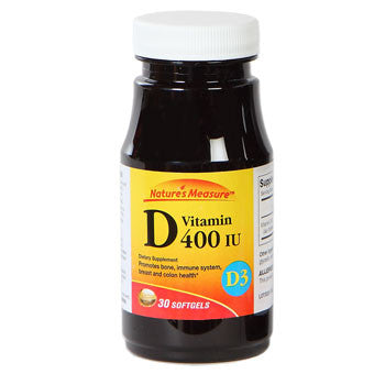 Nature's Measure Vitamin D, 30 ct.
