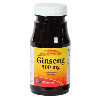 Nature's Measure Ginseng, 30 ct.