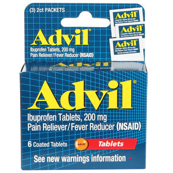 Advil Tablets, 6-ct. Pack