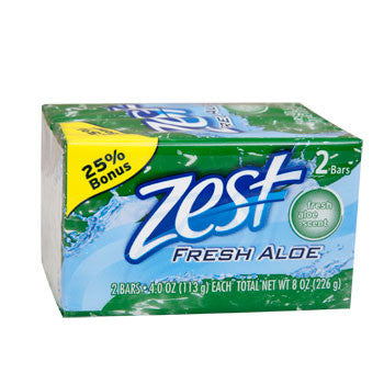 4-oz. Bars of Zest Soap, 2-ct. Pack