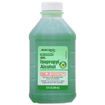 Assured Isopropyl Alco. with Wintergreen, 12-oz. Bottle