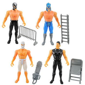 Extreme Fighting Action Figures (Set of 4)