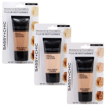 Sassy+Chic Moisture Foundation, 1.0-oz. Tube