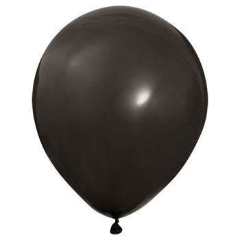 Black Latex Balloons, 12 in., 15-ct. Pack