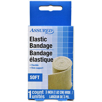 Assured Elastic Bandage, 3""
