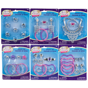 Just Pretending Plastic Jewelry Assortements
