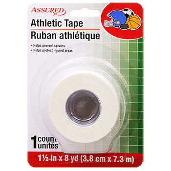Assured Athletic Tape, 8-yd. Roll