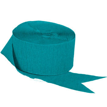 Teal Crepe Paper Streamers, 70½-ft., 2-ct. Pack