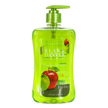 Klar & Danver Apple Fields Liquid Hand Soap, 15-oz. Bottle