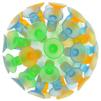 Colorful Suction Cup Balls, 3 in.