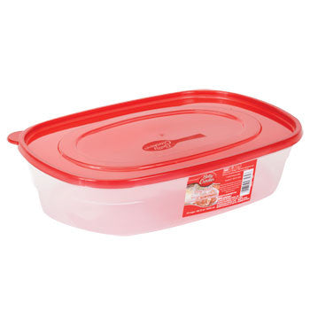 Betty Crocker Easy Seal Rectangular Storage Container, 96 oz.