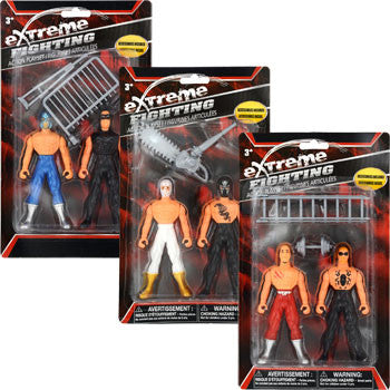 Extreme Fighting Action Figure Playset, 4-pc. Set (Set of 3)