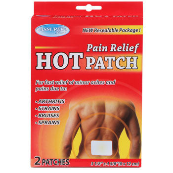 Assured Pain Relief Hot Patch, 2-ct. Pack