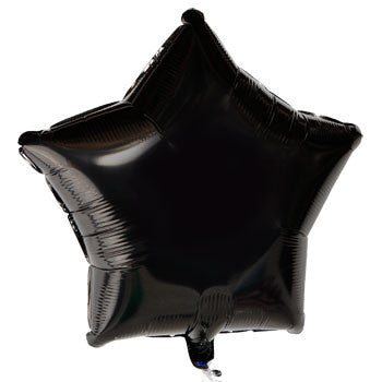 Black Star Foil Balloon, 18""