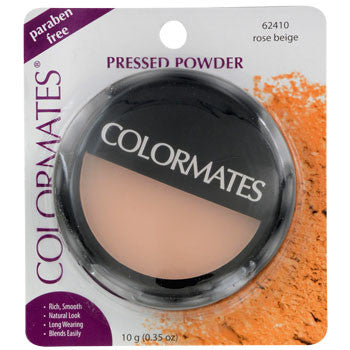 Colormates Rose Beige Pressed Powder Compact