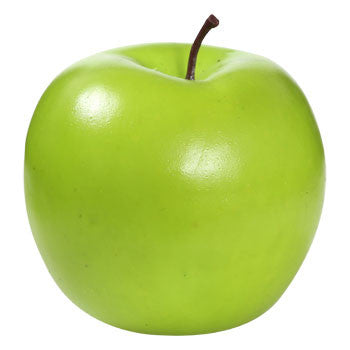 Decorative Plastic Green Apple, 3""