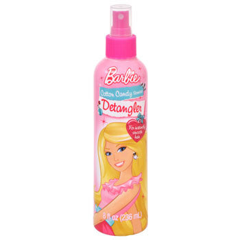 Barbie Cotton Candy Scented Detangler Spray, 8-oz. Bottle