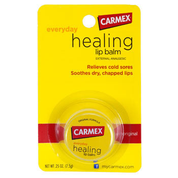 Carmex Healing Lip Balm, 0.25-oz. Tin