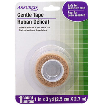 Assured Gentle Medical Tape, 3-yd. Roll