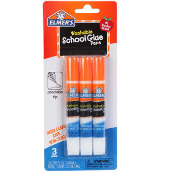 Elmer's School Glue Pens, 3-ct. Pack