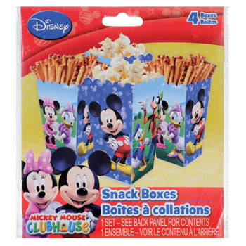 Disney Mickey Mouse Clubhouse Snack Boxes, 4-ct. Pack