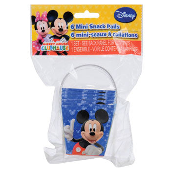 Disney Mickey Mouse Clubhouse Snack Pail, 6-ct. Pack