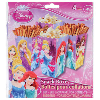 Disney Princess Snack Boxes, 4-ct. Pack
