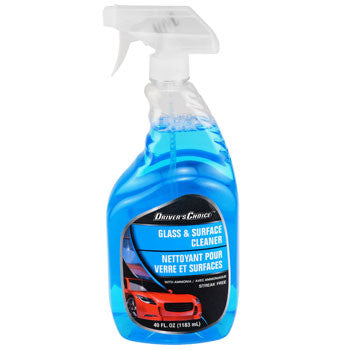 Driver's Choice Auto Glass & Surface Cleaner, 40-oz. Bottle