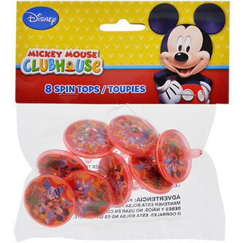 Disney Mickey Mouse Clubhouse Spin Tops, 8-ct. Pack