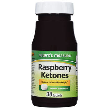 Nature's Measure Raspberry Ketones, 30-ct. Bottle