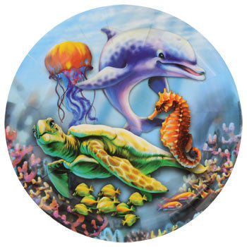"Ocean Life Large Paper Plates, 9"", 18-ct. Pack"