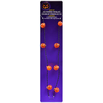 Battery-Operated Led Halloween Light Necklace