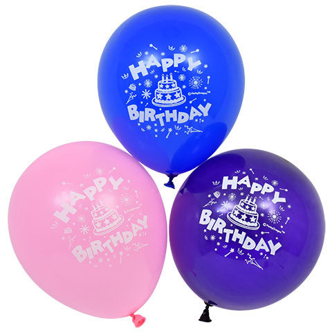 """Happy Birthday"" Latex Balloons, 12-ct. Bag"