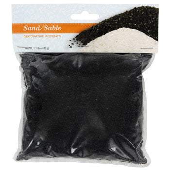 Black Decorative Sand, 1.1-lb. Bag